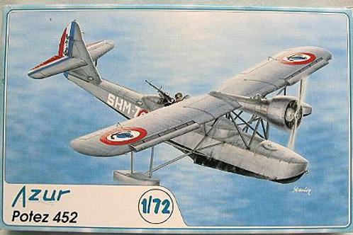 Azur - Potez 452 1/72