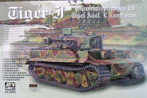 AFV Club - Panzerkampfwagen VI Tiger Ausf.E Latest Version 1/35
