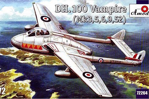 Amodel - de Havilland DH.100 Vampire 1/72