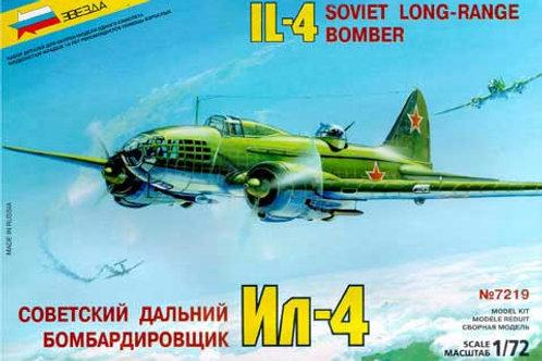 Zvezda - Soviet Long-Range Bomber IL-4 1/72