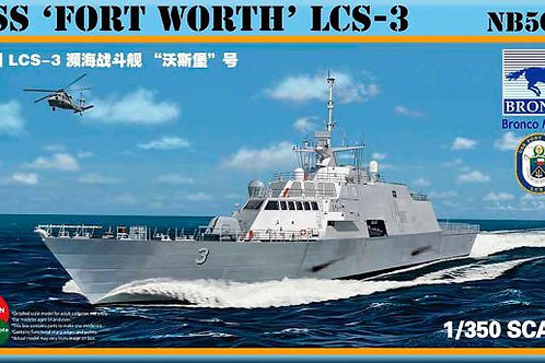 Bronco - USS 'Fort Worth' LCS-3 1/350