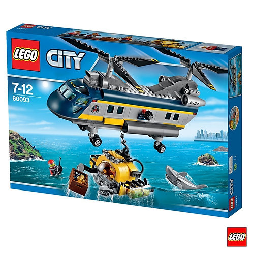 Lego 60093 City - Explorers Deep Sea Helicopter