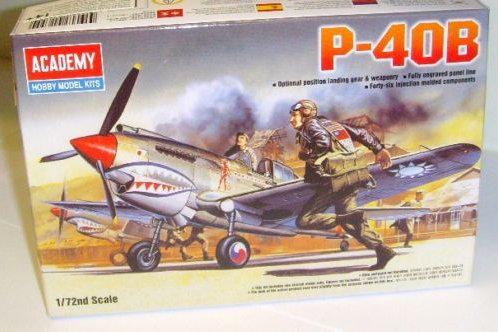 Academy - Curtiss P-40B Tomahawk 1/72