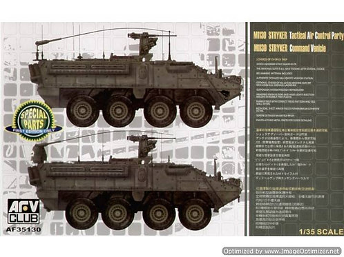 AFV Club - M1130 Stryker Command Vehicle 1/35