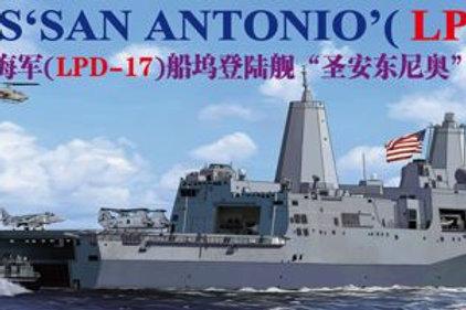 Bronco - USS San Antonio (LPD-17) 1/350