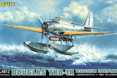 Great Wall Hobby - Douglas TBD-1A Devastator Floatplane 1/48