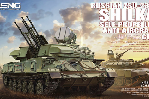 Meng Model - Russian ZSU-23-4 Shilka Self-Propelled Anti-Aircraft Gun 1/35