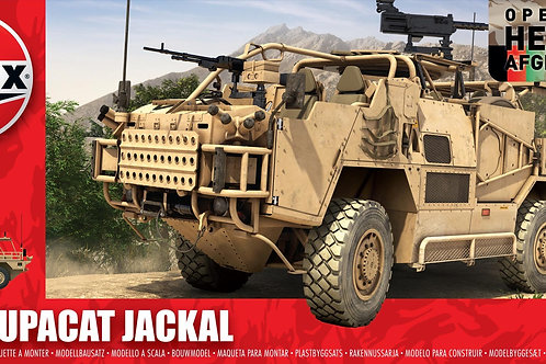 Airfix - British Army Supacat Jackal 1/48