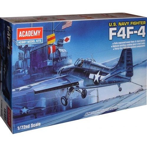 Academy - US Navy Fighter F4F-4 Wildcat 1/72