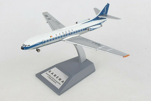 Inflight 200 - Sabena Sud SE-210 Caravelle OO-SRB with stand 1/200