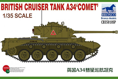 Bronco - British Cruiser Tank A34 'Comet' 1/35