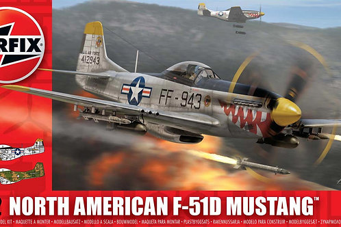Airfix - North American F-51D Mustang 1/72