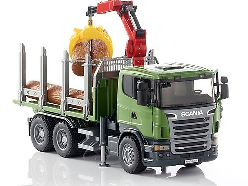 Bruder 03524 - Scania R-series Timber Truck & Loading 1/16