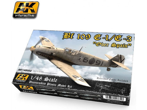 AK Interactive - Messerschmitt Bf-109 E1/E3 1/48