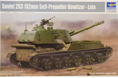 Trumpeter - Soviet 2S3 152mm Self-Propeller Howitzer - Late 1/35