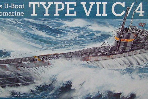 Revell - German Submarine Type VIIC/41 1/144