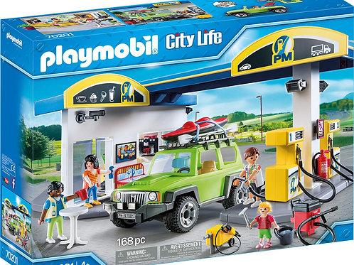 Playmobil 70201 City Life - Gas Station