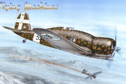 Flying Machines - Italian Fiat G.50 Serie II 1/48