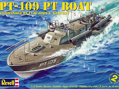 Revell - PT-109 PT Boat Commanded by Kennedy 1/72