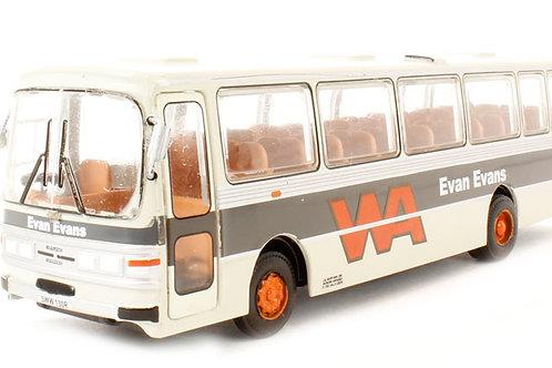 Base Toys - Leyland Leopard Duple Dominant II 'Evan Evans' in grey 1/