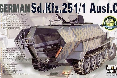 AFV Club - German Sd.Kfz.251/1 Ausf.C 1/35