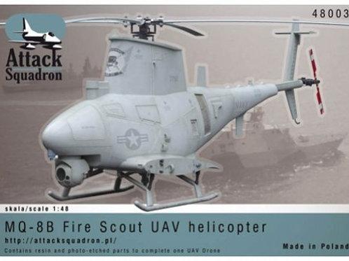 Attack Squadron - MQ-8B UAV Drone Helicopter 1/48