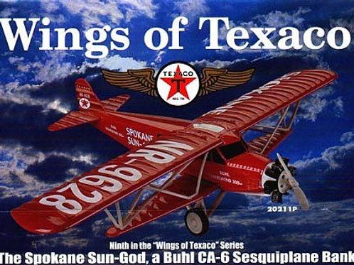 ERTL Collectibles - Spokane Sun-God Wings of Texaco #9