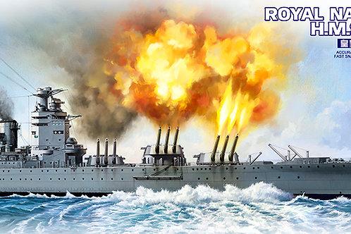 Meng Model - HMS Rodney Royal Navy Battleship 1/700