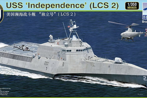 Bronco - USS Independence LCS-2 1/350