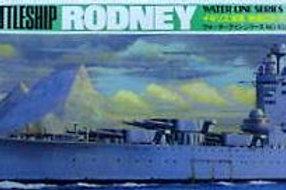 Tamiya - British Battleship Rodney 1/700