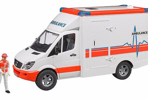 Bruder 02536 Mercedes-benz Sprinter Ambulance with driver 1/16