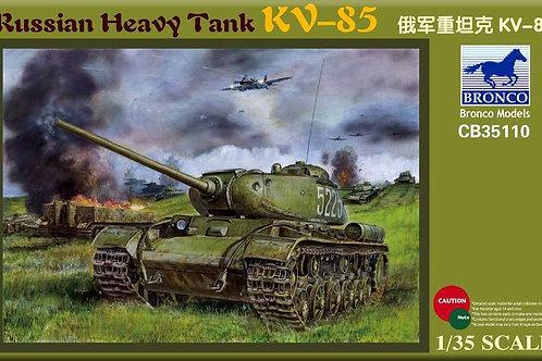 Bronco - Russian Heavy Tank KV-85 1/35