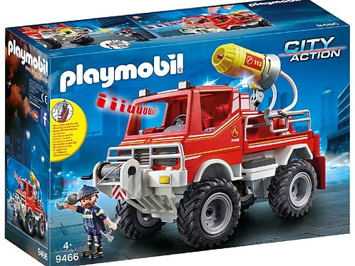 Playmobil 9466 City Life - Fire Engine with Lights and Sound