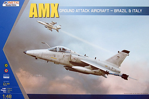 Kinetic - AMX Ground Attack Aircraft - Brazil 1/48