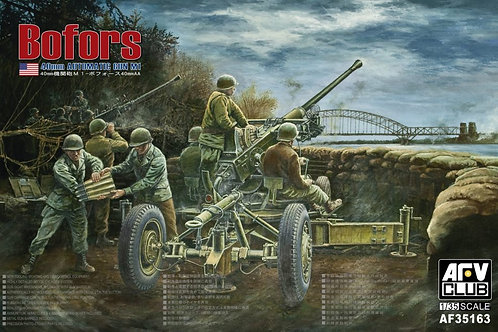 AFV Club - Bofors 40mm AA Gun 1/35
