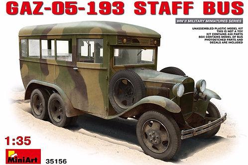 Miniart - GAZ-05-193 Staff Bus 1/35