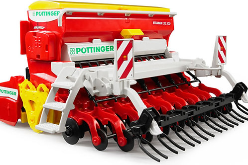 Bruder 02347 - Pottinger Vitasem 302ADD Seed Drill 1/16