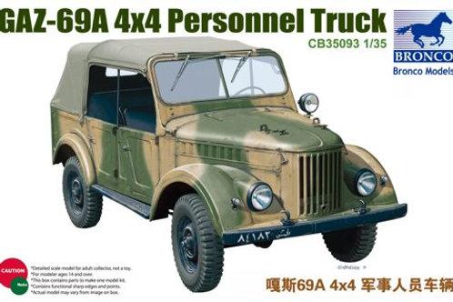 Bronco - GAZ-69A 4x4 Personnel Truck 1/35