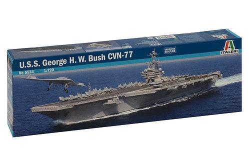 Italeri - U.S.S. George H.W. BushCVN-77 1/720