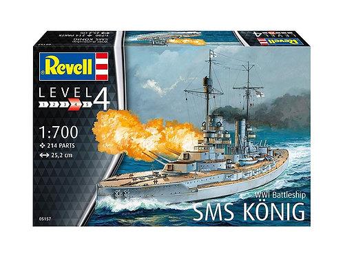 Revell - WWI Imperial German Battleship SMS König 1/700