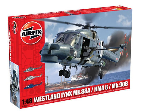 Airfix - Westland Lynx HMA.8/Mk.88A/Mk.90 1/48