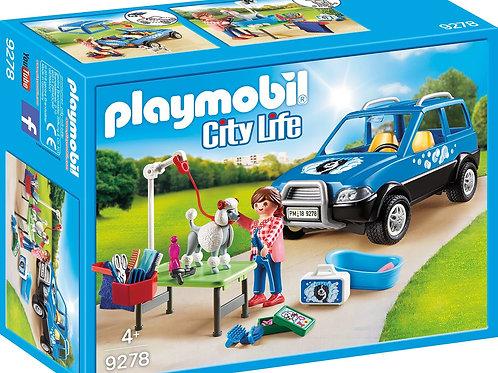Playmobil 9278 City Life - Mobile Dog Salon