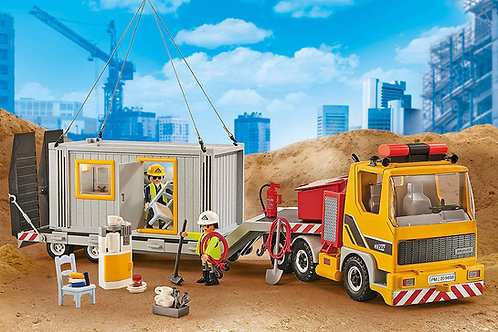 Playmobil 9898 City Action - Low Charger with Container