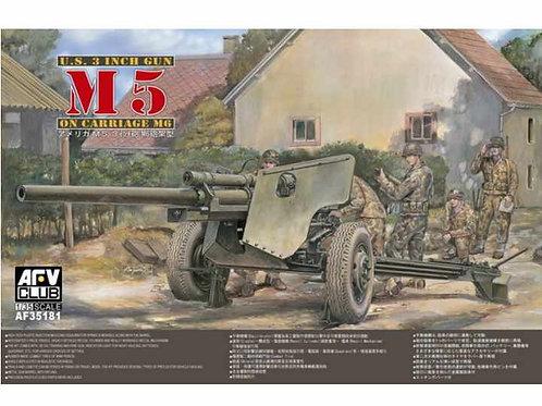 AFV Club - M5 3 inch Gun on M6 Carriage 1/35