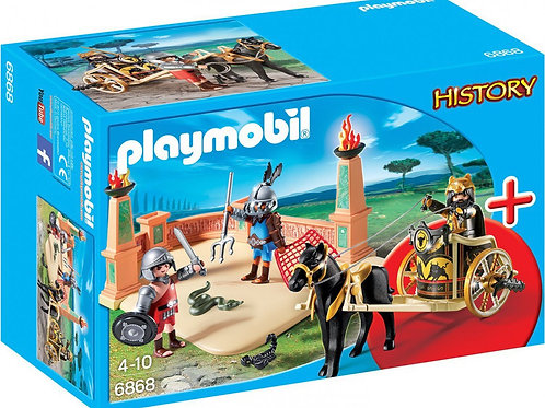 Playmobil 6868 History - Gladiator Arena