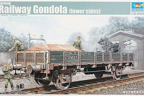 Trumpeter - German Railway Gondola (lower Sides) 1/35