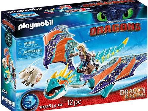 Playmobil 70728 Dragons - Dragon Racing: Astrid and Stormfly