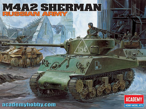 Academy - M4A2 Sherman Russian Army 1/35