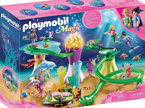 Playmobil 70094 Magic - Coral Gazebo with Luminous Dome