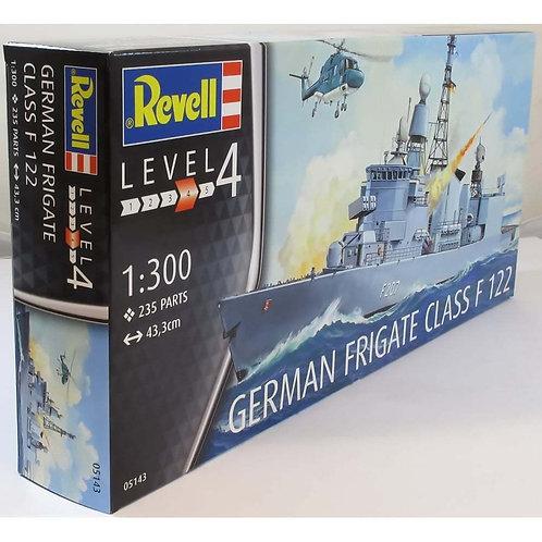 Revell - German Frigate Class F122 1/300